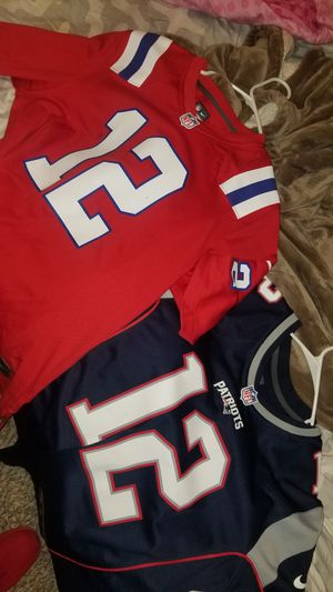 Brady patriot jersey 100% authentic for Sale in Renton, WA
