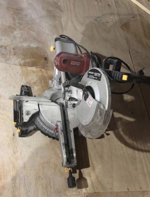 """12"""" Double-Bevel Sliding Compound Miter Saw for Sale in Lynn, MA"""