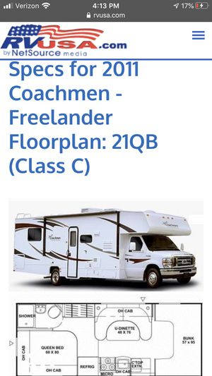 2011 Chevrolet coachman motorhome for Sale in Hawthorne, CA