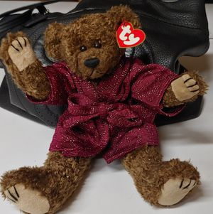 "Jointed collectors 12 inch beanie baby bear ""Tyrone"" for Sale in Costa Mesa, CA"