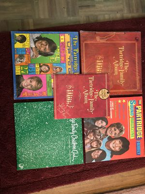 Partridge Family record albums and rare songbook for Sale in Austin, MN