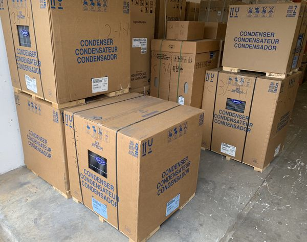 New Carrier Ac Unit Complete System For Sale In Hialeah