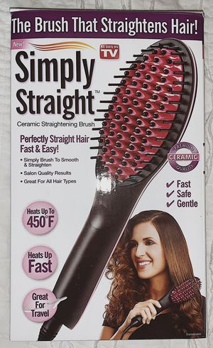 SIMPLY STRAIGHT // never used, heating tool for straightening hair! for Sale in Henderson, NV