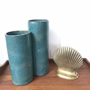 Handmade Ceramic Double Vase/Planter for Sale in Maple Valley, WA
