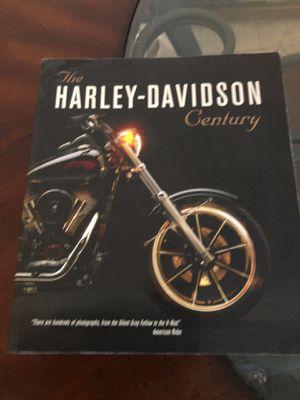 Brand new HARLEY- Davidson Century book for Sale in Grosse Pointe Farms, MI