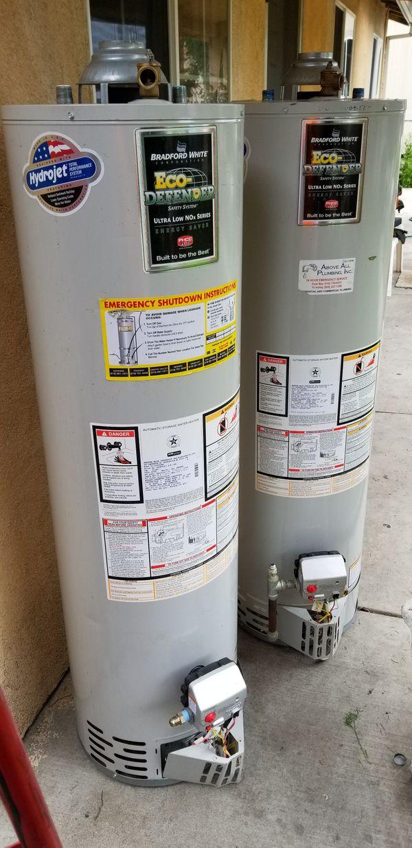 30 gal. Water heaters