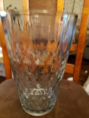 "Beautiful large 10""x6"" glass vase for Sale in Stow, OH"
