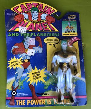 Captain Planet Talking action figure for Sale in Columbus, OH