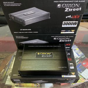 Orion Car Audio . Car Stereo Amplifier . 3000 watts Class D . Holiday Super Sale ! $109 While They Last . New for Sale in Mesa, AZ