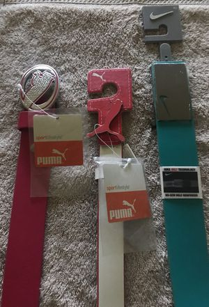 3 golf belt for Sale in Forney, TX