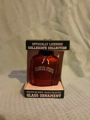 Florida state college football ornament for Sale in Lewiston, ME