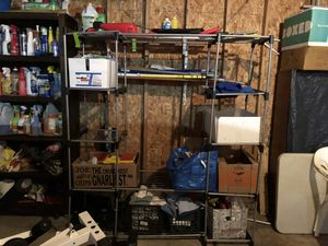 "Closet organizer measures W61"" x 67"" x deep 19"" for Sale in Franklin Park, IL"