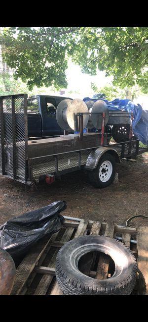 Trailer and gutter machine for Sale in Boston, MA