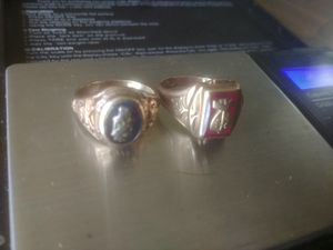 10k yellow gold class rings for Sale in Gibsonia, PA