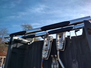 Very nice set four-door Chevrolet GMC step bars new body style stainless steel for Sale in Piedmont, SC