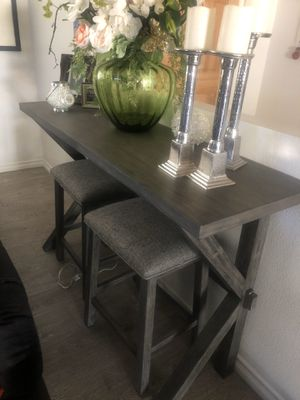 Bar stand 3 pc ! for Sale in Victorville, CA