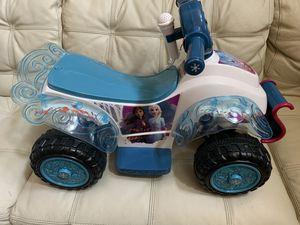 Disney Frozen II sing & Ride Quad 6v Battery-powered for Sale in FL, US