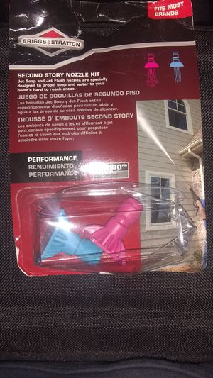 2nd story pressure washer nozzles for Sale in Jackson, GA