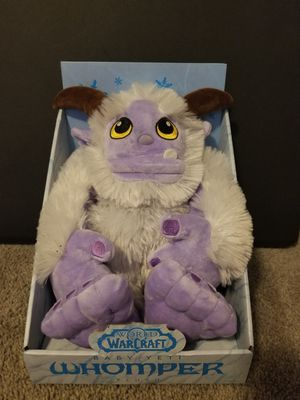 World of Warcraft baby Whomper Plushie for Sale in Coronado, CA