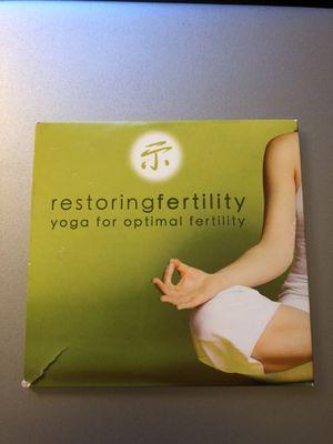 Yoga for Fertility/Pregnancy DVD Set for Sale in Alexandria, VA