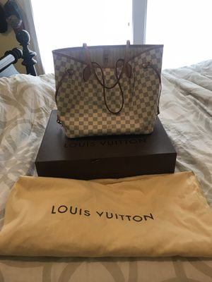 Louis Vuitton Damier Azur Neverfull MM for Sale in South Riding, VA