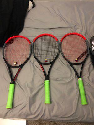 Wilson tennis raquetcs and bag for Sale in Miramar, FL