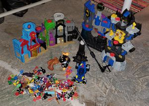 Imaginext playset bundle for Sale in Burgettstown, PA