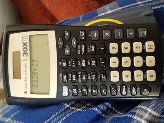 Texas Instruments TI-30X IIS 2-Line Scientific Calculator   for Sale in Long Beach, CA