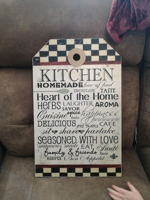 Kitchen wall decor for Sale in Port St. Lucie, FL