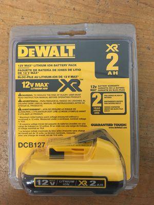 DeWalt 12-volt Max 2-amp-hours Lithium Power Tool Battery for Sale in Murray, UT