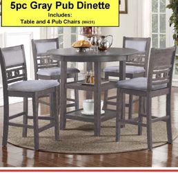 Grey Round Dining Table for Sale in Los Angeles,  CA
