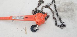 CM pipe hoist for Sale in Dinuba, CA