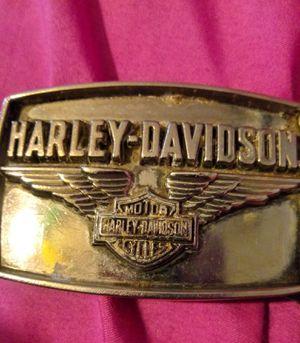 Harley Davidson Belt Buckle for Sale in Wichita Falls, TX