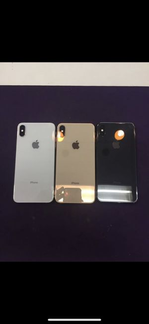 (5) iPhone XS Max T-Mobile / Metro PCS PAID OFF Excellent Condition!! for Sale in Glendora, CA