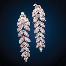 """New Dazzling Stauer """"Eternal Flame"""" Earrings for Sale in Severn,  MD"""