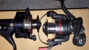 Abu Garcia, Quatum and shakespear fishing reels for Sale in Cartersville, GA