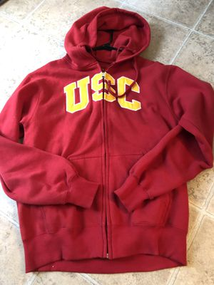 USC zip up sweater for Sale for sale  Beaumont, CA