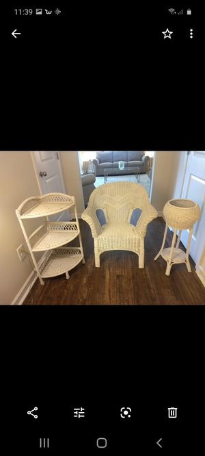 Wicker Accent Pieces . $20/Set for Sale in Gastonia, NC