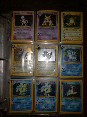 First generation pokemon cards vintage for Sale in Buckeye, AZ