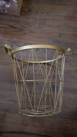 Metal decorative basket for Sale in Chicago, IL