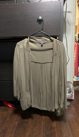 Army green cardigan for Sale in Garden Grove, CA