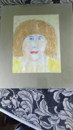 Cool naive Outsider picture of Woman by Mary Smith for Sale in Knoxville, TN