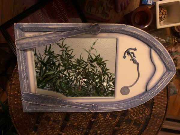 Boat Shaped Mirror