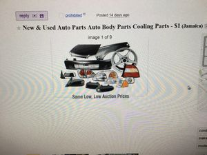 New & Used Auto Parts Auto Body Parts For Sale for Sale in Queens, NY
