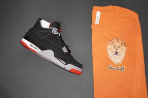 AJ4 BRED SIZES 4.5,9,9.5,13 DS WITH RECEIPTS CASH ONLY for Sale in Cherry Hill, NJ