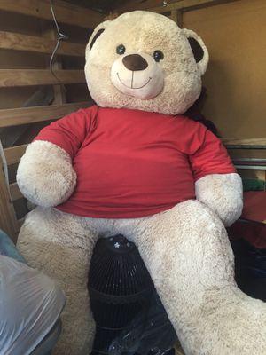 Big Giant Stuffed Bear for Sale in Sacramento, CA