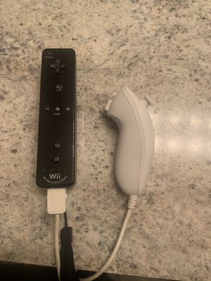 Nintendo Wii / Wii U Motion Plus Remote With Nunchuk for Sale in San Antonio, TX