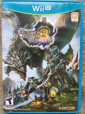 Monster Hunter 3: Ultimate (Wii U) for Sale in Fairfax, VA