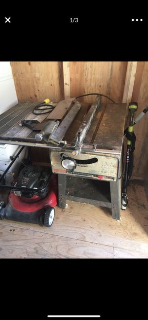 Craftsman table saw for Sale in Edgewood, WA