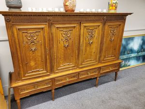 European antique cabinet very unique reduced from 1500 to 495 for Sale in Coral Springs, FL